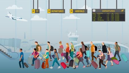Meest vertraagde airlines in Nederland