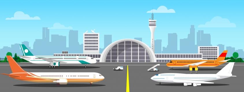 Vliegtuigen buiten gebruik_ parkeren en onderhoud